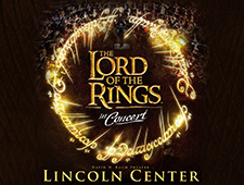 LOTR Trilogy at Lincoln Center, New York