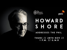 Howard Shore received the Gold Medal of Honorary Patronage Award