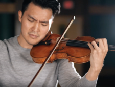 The Song Of Names Original Soundtrack – Ray Chen and Howard Shore (behind the scenes)