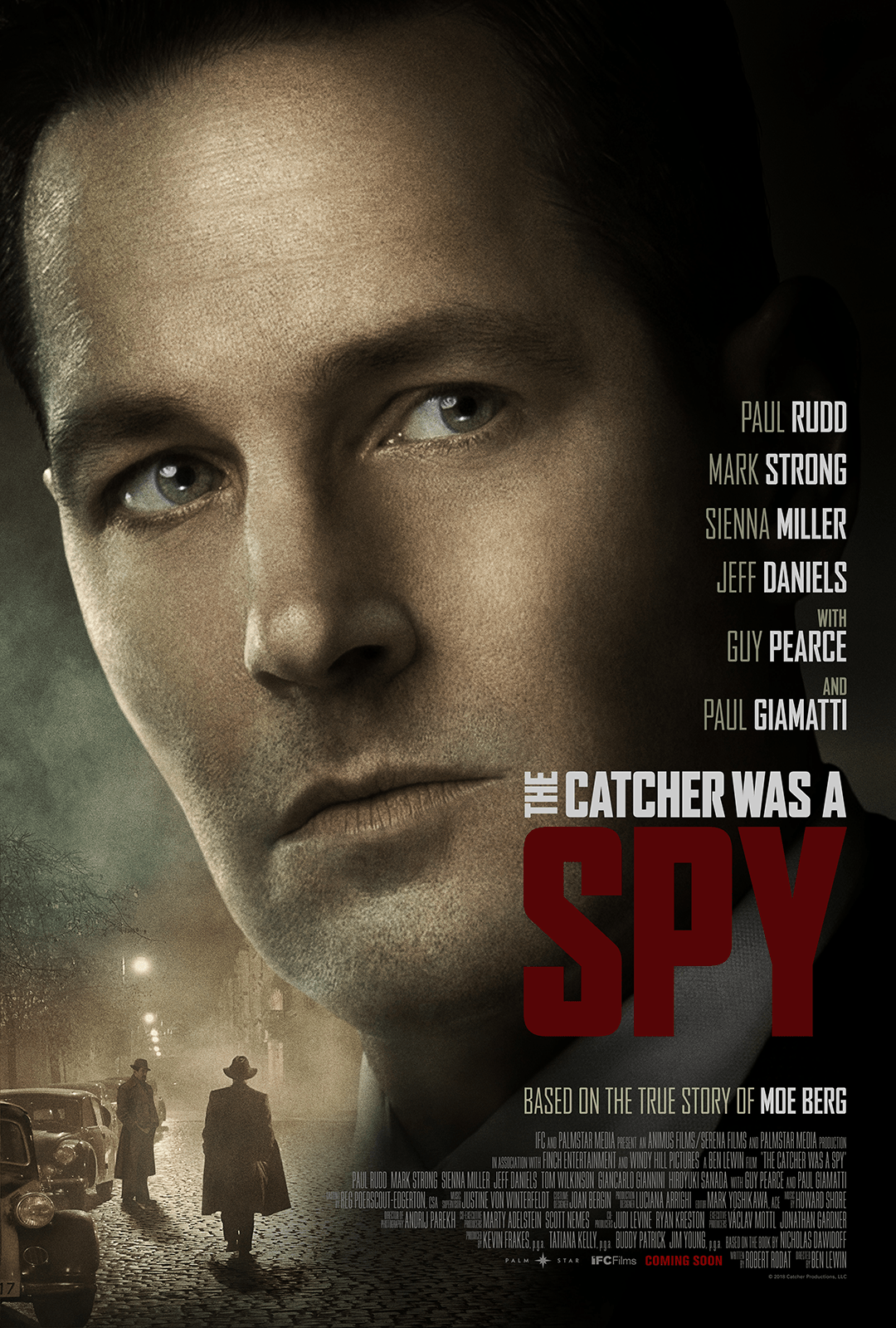 The Catcher Was A Spy (Official Movie Poster)